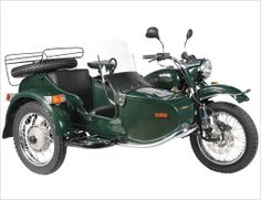 The Ural...a Russian motorcycle and the ultimate in quirky cool! I want one!