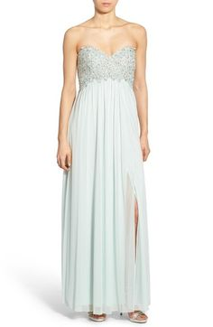 a6e8aaa0c6e Sequin Hearts Embellished Strapless Gown available at  Nordstrom Prom 2016