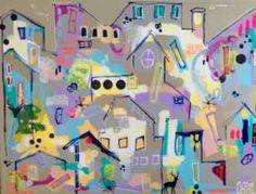 Kunstsamlingen | Artist: Smilla Daisy Dahl | Title: Do it with passion or not at all | Height: 90cm,  Width: 120cm | Find it at kunstsamlingen.com #kunstsamlingen #kunst #artcollection #art #painting #maleri #galleri #gallery #onlinegallery #onlinegalleri #kunstner #artist #danishartists #smilladaisydahl