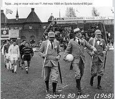 Feestelijke opkomst Sparta 80 jaar-1968 Sparta Rotterdam