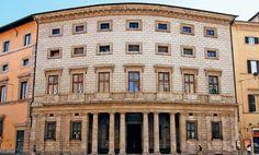 """Peruzzi """"Palazzo Massimo alle Colonne"""" classic with a curve cl  1532"""