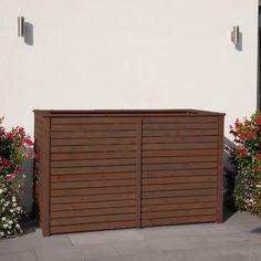 m lltonnenbox geeignet f r 2 m lltonnen douglasie vorgarten pinterest ps. Black Bedroom Furniture Sets. Home Design Ideas