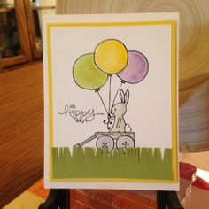 MotherDaughterStampin.com  Fun Stampers Journey 'Bunny Tail'