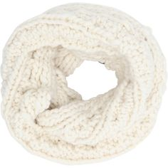 The Third Piece The Beacon Infinity Wool Scarf (377752203) ($238) ❤ liked on Polyvore featuring accessories, scarves, cloud cream, cable knit infinity scarf, loop scarf, wool infinity scarves, round scarf and circle scarf