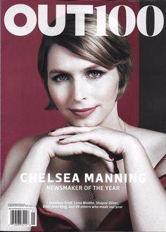 Out gay magazine Jonathan Chelsea Manning Groff Shayne Oliver Lena Waithe .    .