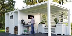Easy do: Outdoor kitchen