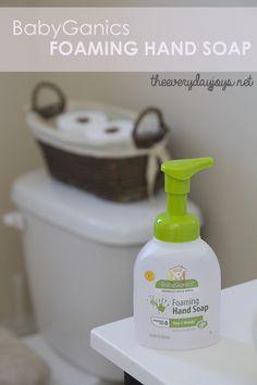 Review: BabyGanics Foaming Hand Soap | The Everyday Joys