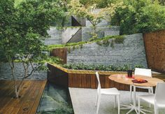 """For her largest commission to date, a young <a href=""""http://www.dwell.com/travel/san-francisco-california"""">San Francisco</a> architect channels <a href=""""http://www.dwell.com/people/tadao-ando"""">Tadao Ando</a> to create an outdoor room for a couple in the Berkeley Hills."""