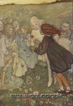 Florence Harrison, «Elfin Song: A Book of Verse and Pictures», London, Glasgow & Bombay, Blackie & Son, 1912.  fharrison-elfin08