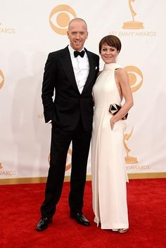 Damian Lewis and Helen McCrory | Who Wore What To The 2013 Emmy Awards?
