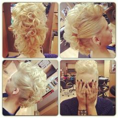 147 Best Mohawk Updo Images Mohawk Updo Up Dos Hair Style