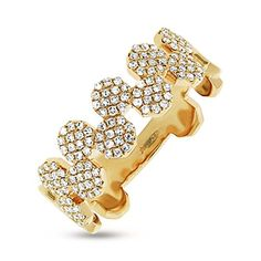 Diamonds By Vicki 0.33ct 14k Gold Diamond Pave Octagon Ring Price: $616.00 & FREE Shipping Vicki Gunvalson, star of Bravo's hit show The Real Housewives of Orange County, delivers an elegant and modern style with her new line of jewelry, Diamonds by Vicki. Sparkling, natural round brilliant diamonds will catch your eye and captivate your heart. 14k gold with high polish finish.