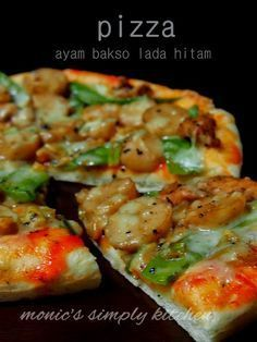 Pizza Ayam Lada Hitam Resep Makanan Resep Makanan Asia Resep Masakan Indonesia