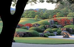 The framed garden at Adachi Museum of Art, Japan. So beautiful it will make you cry. It did me.
