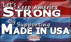 Support American Made at KeepAmerica.com!