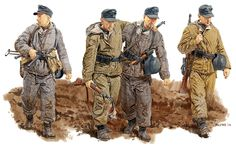 LUFTWAFFE - 1a Field Division der Luftwaffe, Novgorod, 1944 - Ron Volstad
