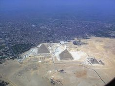 The Pyramids of Giza These 23 Far Away Perspectives Of Famous Places Will Change The Way You See Them Forever