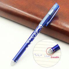 1 개 젤 펜 의해 제거 Fric 기의 사무실 문구 남여 펜 지울 수있는 펜 남녀 0.5 젤 펜 학습 필수