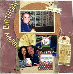 Wine, Cheese and Scrapbooking: Sketch from The Scrapbook Store