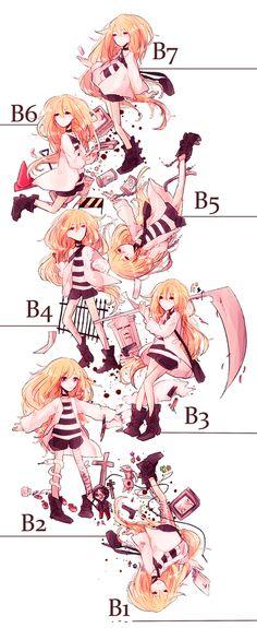 B1-B7