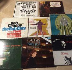Lot Of 8 Vintage Vinyl Records Decca, Mercury Living & Autographed Classical +  | eBay #records #vintagerecords #vinyl #classical #decca