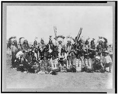 Sioux Indians at the Pine Ridge reservation in southwest South Dakota in 1910. Although Wounded Knee brought the Indian wars of the West to a close, Indians continued to resist U.S. attempts to erase their cultures.