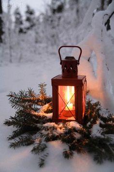Lantern in Sweden by Håkan Hjort