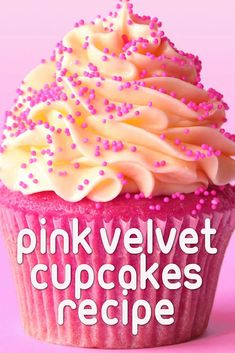 Pink velvet cupcakes are the younger, cuter twist to an old classic – and they also taste absolutely delicious!