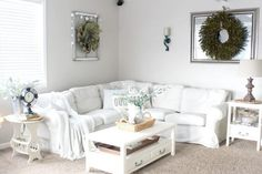 Cozy Overstuffed Sectional with Inviting Cushions