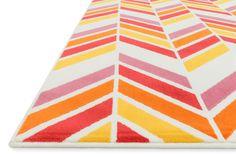 Gracie Ivory/Pink Area Rug