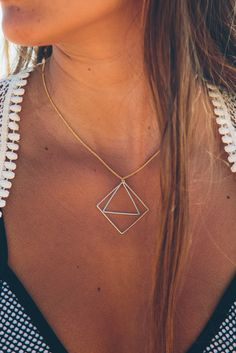 Prism Perfection Necklace, Nectar Clothing