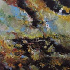 Zeeschap (Domburg) 100x100cm. olie/doek Constantijn Molenkamp
