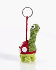 These really are unbelievably cute! Who said our gorgeous octopuses were just for children? Now  adults can share in the fun, with our funky and oh-so-smiley octopus key  rings! Hand-knitted, in bright, vibrant colours and with a very smiley face, these fabulous octopus key ring will brighten up your day.  And joining the gang now with his big eyes, huge smile and bright red shell, our funny little  tortoise key ring will make you smile every time you look at him.  These adorn any keys with…