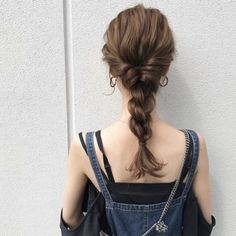 Kawaii Hairstyles, Diy Hairstyles, Wedding Hairstyles, Hair Arrange, Grunge Hair, Hairstyles For School, How To Make Hair, Hair Looks, Hair Inspiration