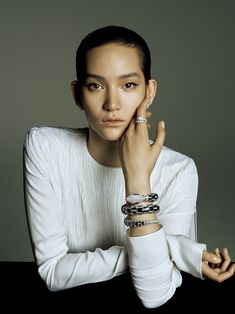 a time to perform: mona matsuoka by david dunan for vogue japan august 2015