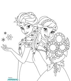 Frozen Fever Olaf Coloring Page