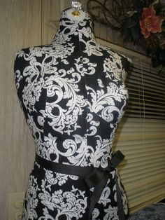 ON SALE Treasury item. Dress Form Display with by reminiscejewels