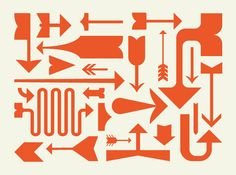 Arrows from Tightrope font, by Alonzo Felix at Lost Type Co-op (via DesignWorkLife)