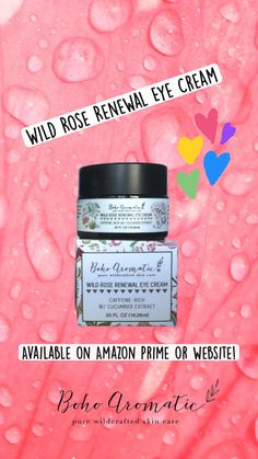 Natural Eyes, Natural Skin Care, Cream Roses, Vegan Beauty, Vegan Lifestyle, Eye Cream, Face Care, Beauty Routines, Pure Products