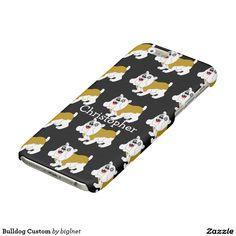 Bulldog Custom Glossy iPhone 6 Case