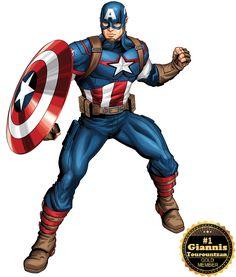 Avengers Recruits Super Hero Poster Creator Game on Marvel HQ Hulk Marvel, Marvel Comics Superheroes, Marvel Avengers Assemble, Marvel Heroes, Captain America Comic, Captain America Images, Captain America Wallpaper, Captain America Powers, Avengers Cartoon