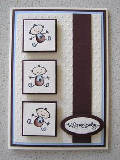 Still in the Family baby card by stamp my day - Cards and Paper Crafts at Splitcoaststampers: