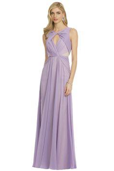 Lilac Badgley Mishka gown - Rent the Runway