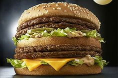 Finally a Big Mac I can live with.  Ironically though it is still like it has two patties. Only now their as thick as they should be. And it was Japan who created it. Not America.... Dare I call What The Fuck.