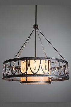 Chateau Chandeliers - eclectic - chandeliers - salt lake city - Hammerton Lighting