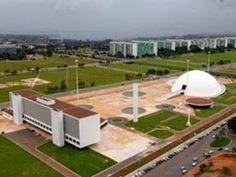 Complexo Cultural da Republica - Oscar Niemeyer, Brasilia