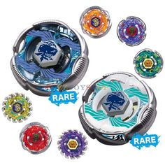 LOT OF 8PCS BEYBLADE METAL FIGHT FUSION BB82 BOOSTER VOL.5 FULL SET 100% GENUINE
