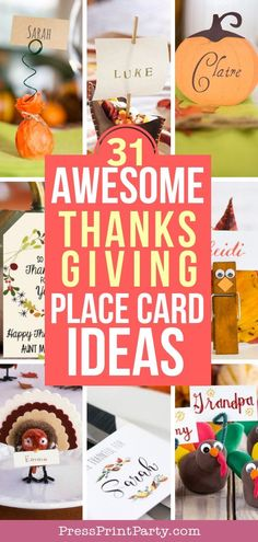 31 AWESOME THANKSGIV