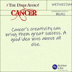 Daily astrology fact from The Daily Astro! Have you seen your Cancer horoscopefor today yet??  Visit iFate.com now!