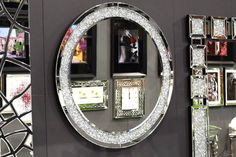 Zrkadlo CRYSTAL ORACLE Mirrors, Crystals, Home Decor, Decoration Home, Room Decor, Crystal, Home Interior Design, Mirror, Crystals Minerals